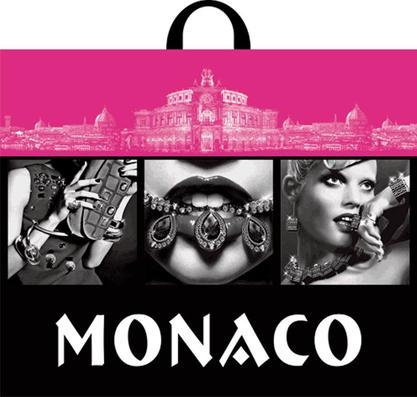 Пакет с петлевой ручкой 60х50 70мкм Монако