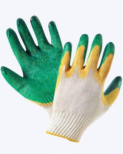Перчатки с латексом